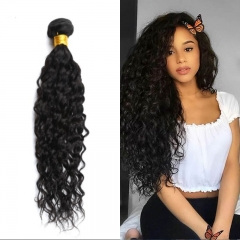 Mongolian Natural Wave Virgin Hair Weave