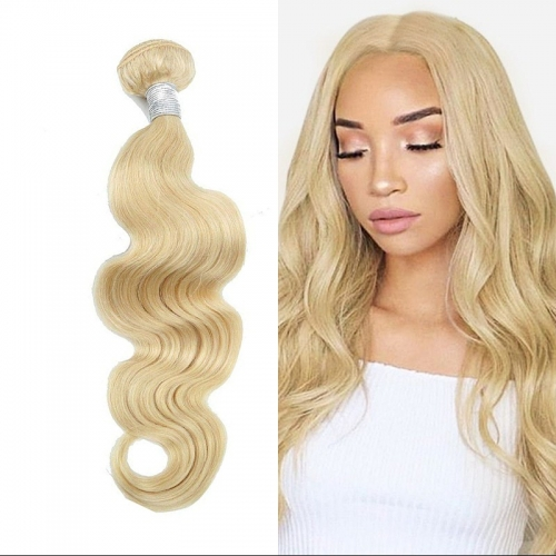 613 Blonde Body Wave Virgin Hair Weave