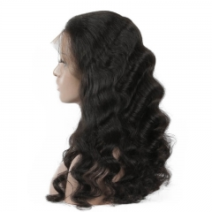 Loose Wave Human hair Lace Front Wigs