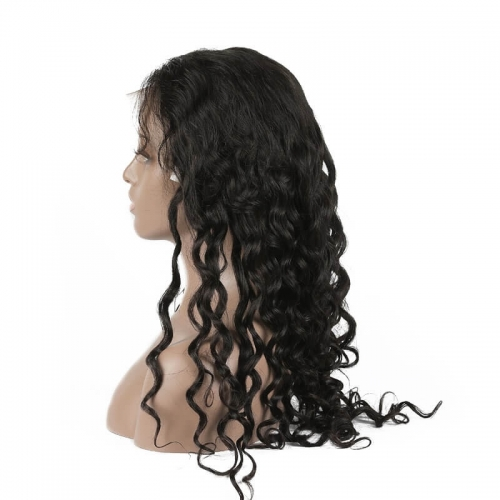 Natural Wave Human hair Lace Front Wigs