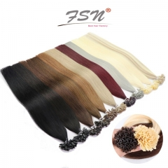 V-tip Hair Extensions High End Quality 11 Colors