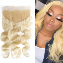 613 Blonde Body Wave Lace Frontal 13x4