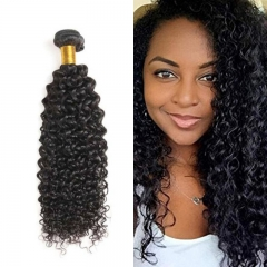 Deep Curly Virgin Hair Weave 7A