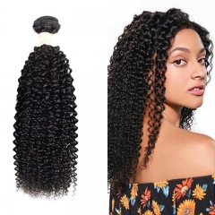 Mongolian Kinky Curly Virgin Hair Weave