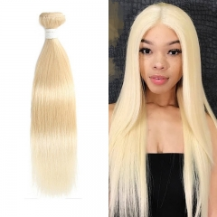 613 Blonde Straight Virgin Hair Weave