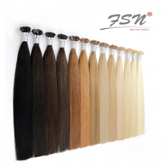 Straight Flat-tip Hair Extensions High End Quality 11 Colors