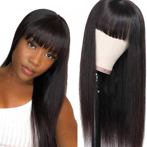 Machine Wigs Human Hair