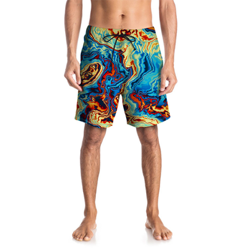 Abstract Figure Shorts