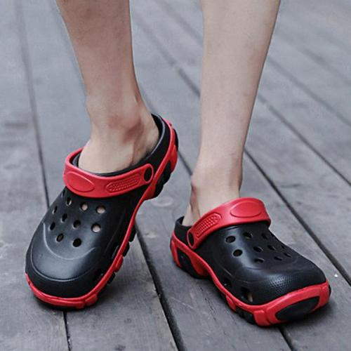 Men's Non-Slip Dual-use Sandals Hollow Out Slippers