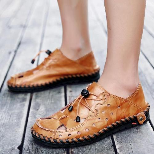 Men's Hollow Beach Shoes Outdoor Sandals Wading Shoes