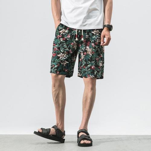 Printed Cotton Shorts 2
