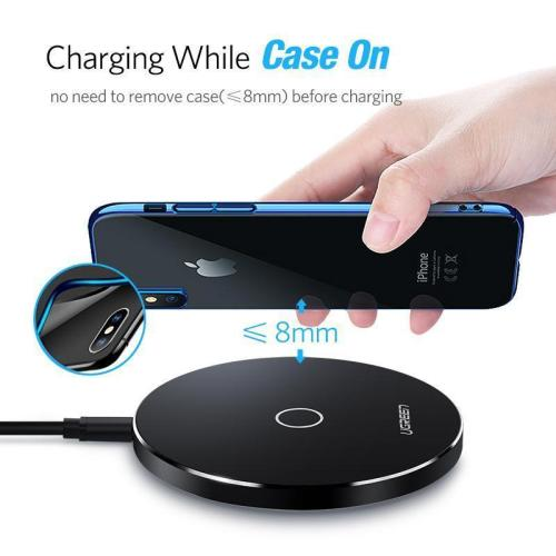 10W Qi Wireless Charger for Samsung S8/S8+/S7 Edge