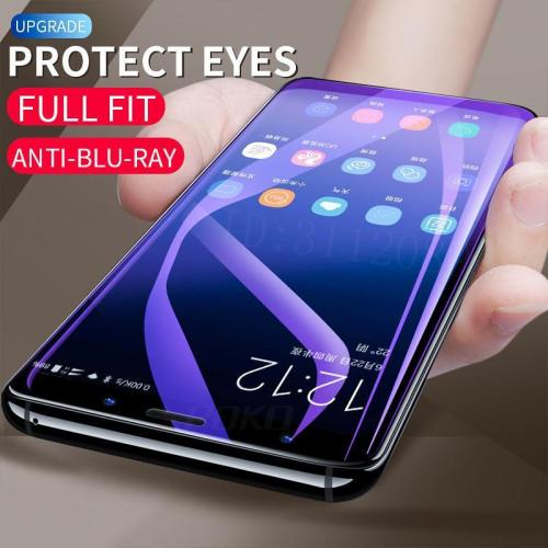 6D Full Cover Soft Purple Light Hydrogel Film For Samsung Galaxy