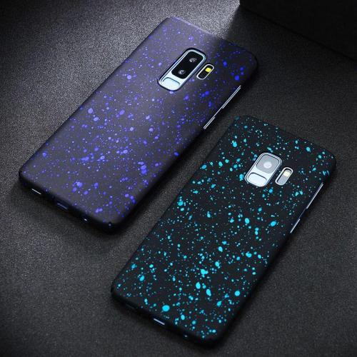 3D Stars Pattern Hard PC Full Cover for Samsung Galaxy S8 S9 Plus Note8