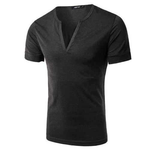 Men Casual Slim Fit Simple Style T-Shirts