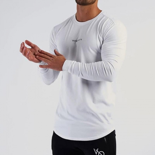 All Season Mens Casual Slim Running Training T-Shirts