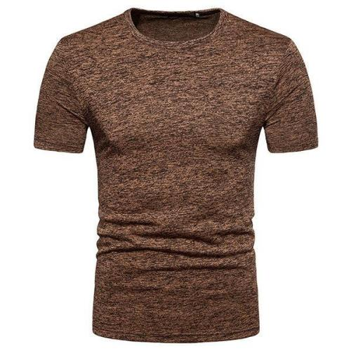 Mens Summer Solid Color T-Shirts