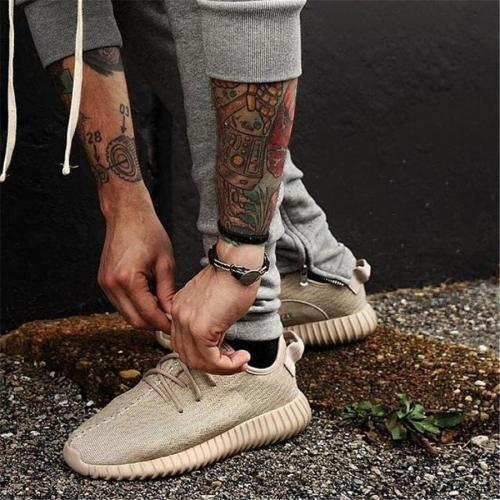 Couple models fashion breathable wild sneakers