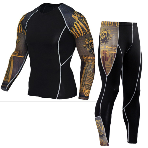 2020 Cheap Men Tights Sports Suit