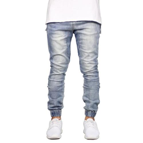 Casual Solid  Mid Waist Jeans
