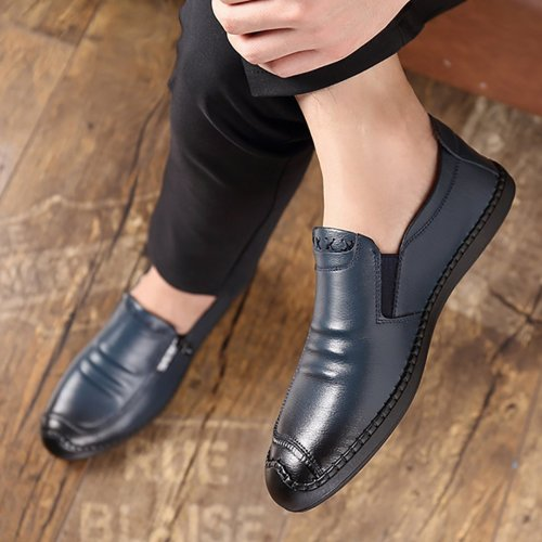 Men breathable non-slip business casual shoes
