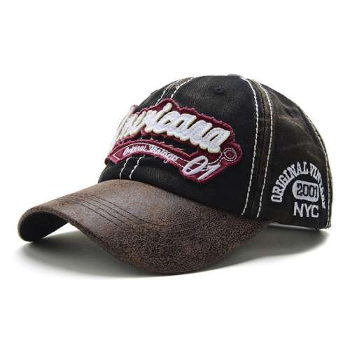 3D embroidery fashion curved casual baseball cap