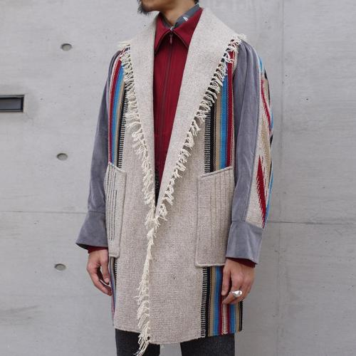 New fashion retro long coat