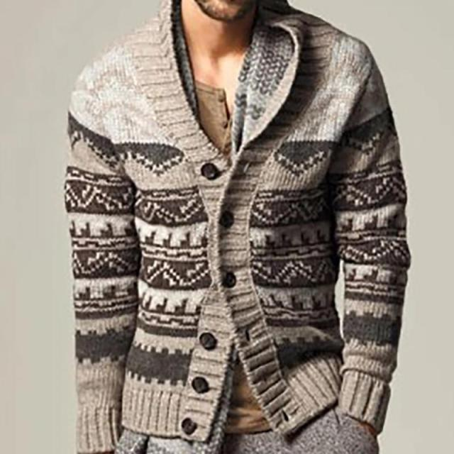 Winter Fashion Single-Breasted Sweater Coat