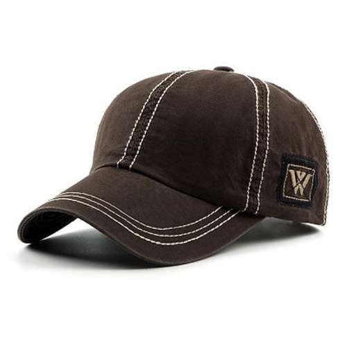 Mens Adjustable Outdoor Peaked Cap Baseball Cap