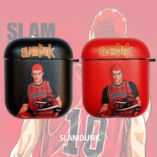 Slam Dunk 'Sakuragi Hanamichi' AirPods Case Shock Proof Cover