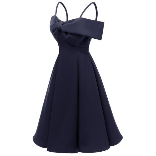 Sexy sling bowknot evening dress slim big pendulum Formal evening dresses elegant generous party evening gown