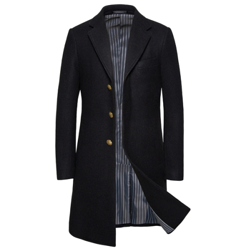 Men's Trench Coat Spring Male Wind Breaker Cotton Casual Trench Men Outwear