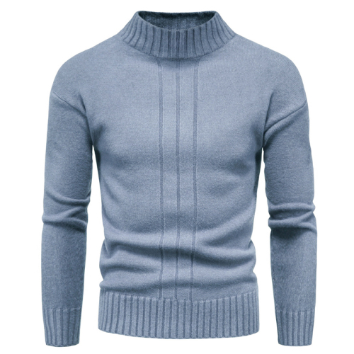 Autumn new men's sweater men's half turtleneck sweater