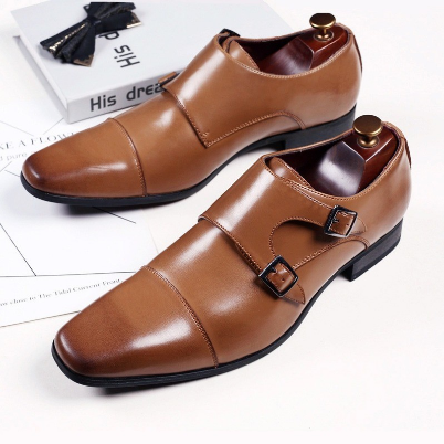 Classic Crocodile Pattern Business Flat Shoes Men Designer Formal Dress Leather Shoes Men's Loafers