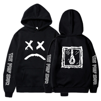 Hip Hop Lil Peep Hoodies Hell Boy Men Women Hooded Pullover