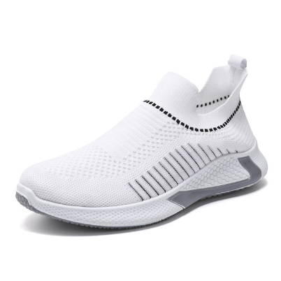 New Men's Lightweight Sneakers Casual Shoes Men's Shoes Sneakers Flat Men's New Knit Mens Shoe