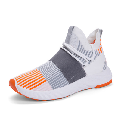 Sports Shoes Slip-On Lightweight Mesh Men Shoes Casual Breathable Comfortable Walking Male Sneakers