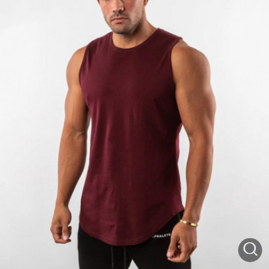 Gym Clothing Men's Bodybuilding Skinny Tank Tops Summer Casual Vest
