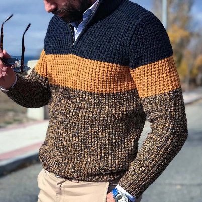 Men Autumn Winter Warm Pullover Jumper Plus Size Long Sleeve Casual Loose V Neck Knitted Sweater Oversize Man Knitwear