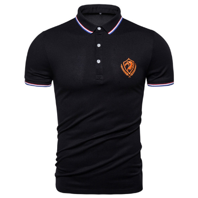 New Summer Cotton Polo Shirt Men Top Quality Business Social Male Polos