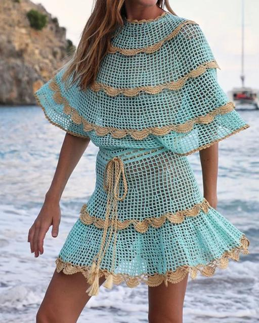 Boho Vacation Woman Two Piece Sets Overall