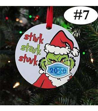2020 Stink Stank Stunk Christmas Ornaments