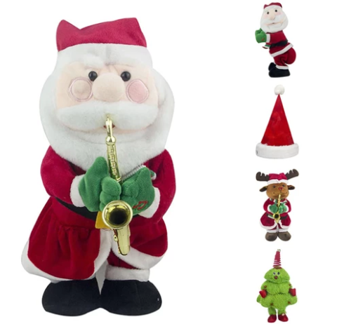 DANCING & SINGING SANTA CLAUS