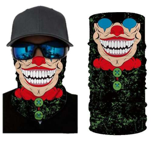 Joker BANDANAS HEADBAND SHIELD UNISEX NECK GAITER FOR OUTDOOR SPORTS