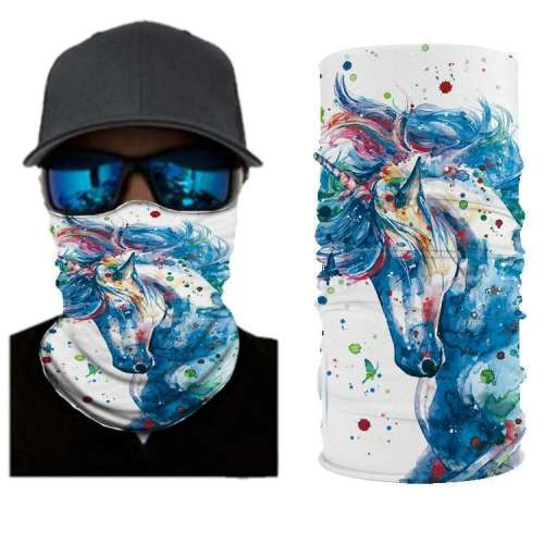 Unicorn BANDANAS HEADBAND SHIELD UNISEX NECK GAITER FOR OUTDOOR SPORTS