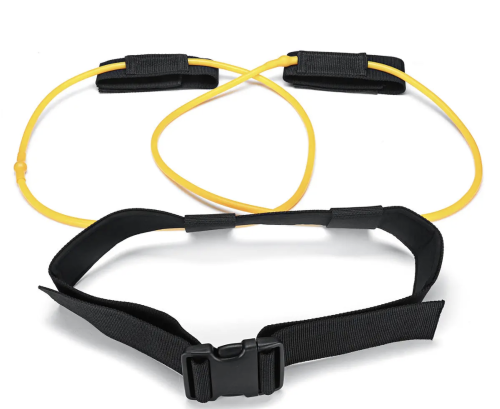 Resistance Band For Legs & Glute Workout With Belt & Loops
