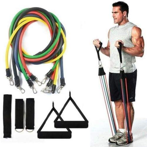 Fitness Resistance Bands Set Exercise bands - Best At Home Gym