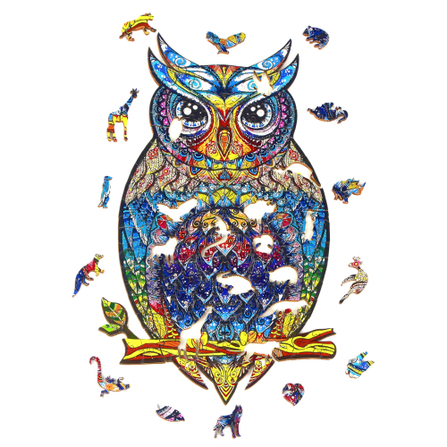 CHARMING OWL PUZZLE