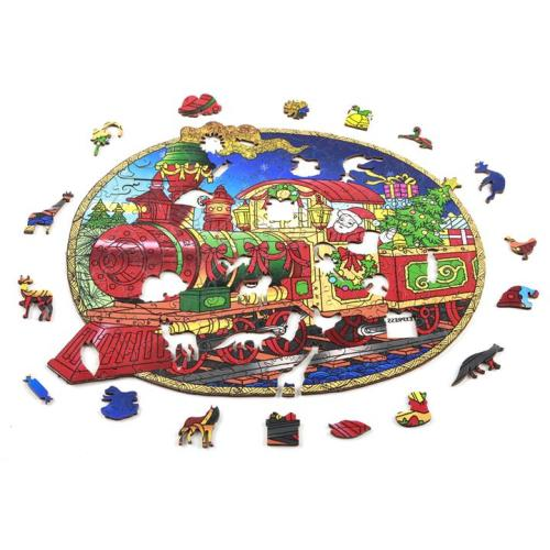 CHRISTMAS TRAIN PUZZLE