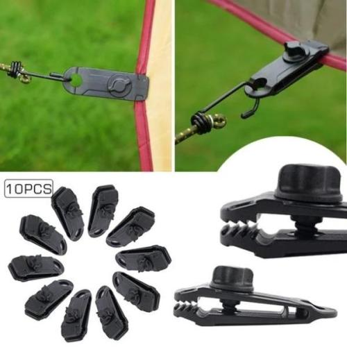 Reusable outdoor tent fixing clip[10pcs]